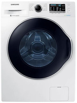 Samsung 11.5kg Front Load Washer in White
