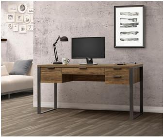 0B048FH Computer Desk in  Aged Walnut
