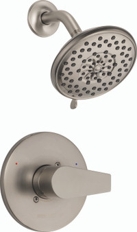 Xander Shower Faucet in Brushed Nickel