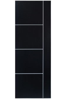 "OPE052 30""x80"" Hollow Core Door in Black Rose"
