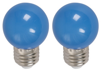 22074 1W G45 6000K LED Bulb in Blue