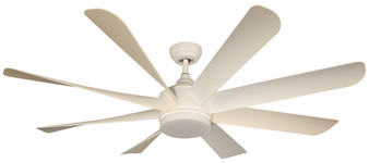 "20872 60"" Indoor Ceiling Fan in White"