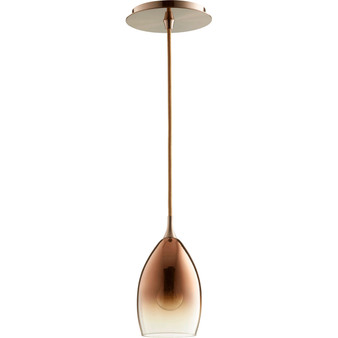 899 1 Light Pendant in Satin Copper
