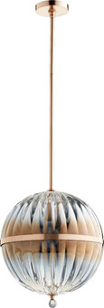 683 1 Light Pendant in Brushed Copper