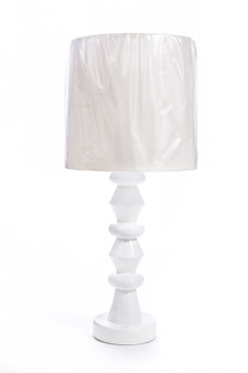 AT03 Table Lamp in White
