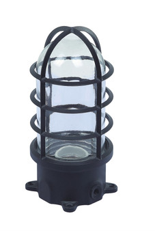 B2182 Outdoor Lawn Lamp in Black