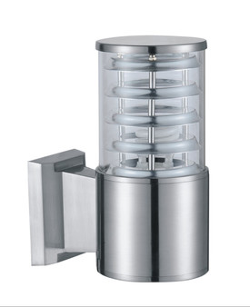 B2065 Outdoor Wall Sconce in Satin Nickel