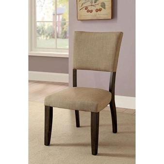 Gomeisa Side Chair in Rustic Oak