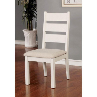 Glenfield Side Chair in Weathered White