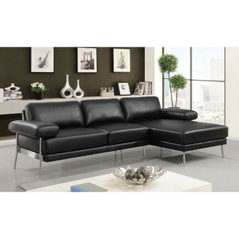 Eilidh Sectional in Black