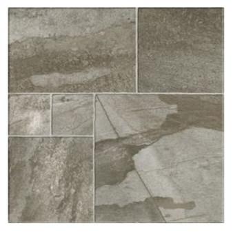 """Stone Mix Gris 24""""x 24"""" Porcelain Tile"""