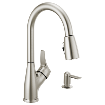 Peerless Kitchen Faucet in Stainless
