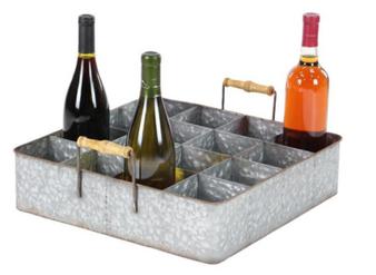Metal Wine Bottle Holder
