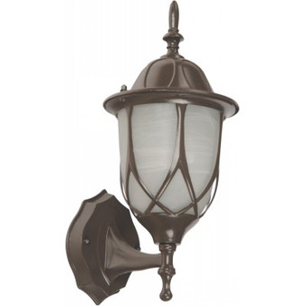 71252 1-Light Wall Sconce in Coffee Brown