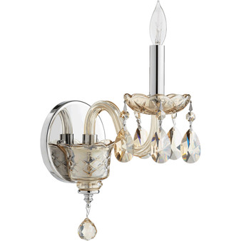 Katerina 1 Light Wall Sconce in Chrome