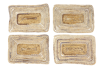 Rectangular Striped Placemats