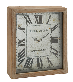 Farmhouse Wall Wooden Clock