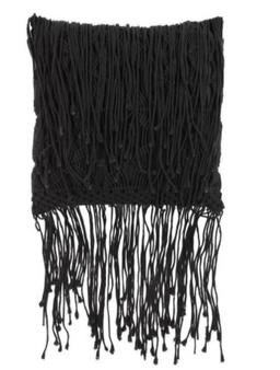 Black Decorative Pillow