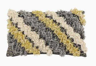 Rectangular Multicoloured Decorative Pillow