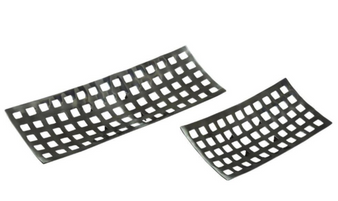 Aluminium Decorative Trays (Set of 2)