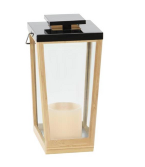 Bamboo Steel Lantern