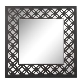 Lattice Pattern Design Wall Mirror