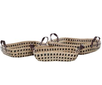 Rectangular Seagrass Storage Baskets