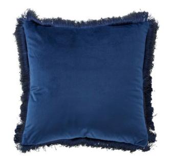 Blue Cotton Pillow