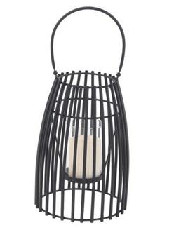 Black Cage-Inspired Lantern