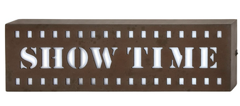 Wood LED Wall Show Sign