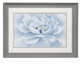 Blue Flower Canvas Art