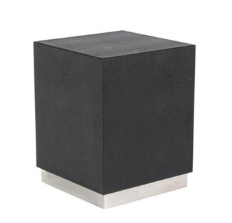Black & Silver Accent Table