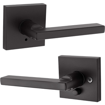 Halifax Privacy Lock in Iron Black