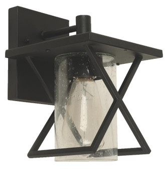 21947 1 Light Outdoor Wall Sconce in Black