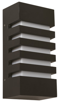 22242 1 Light Outdoor Wall Sconce in Black