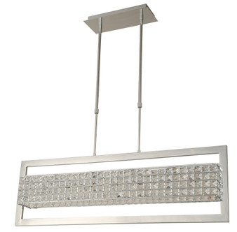 20336 7 Light Chandelier in Stainless