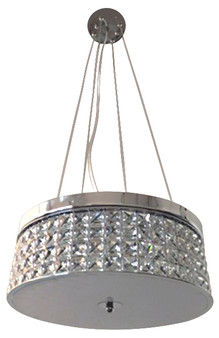 20479 3 Light Pendant in Chrome