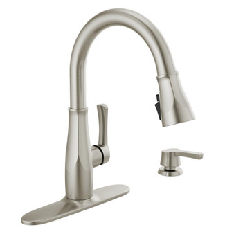Owendale Pull-Down Kitchen Faucet in Stainless