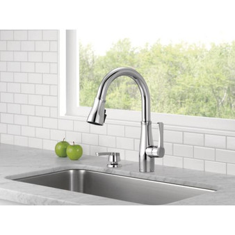 Owendale Pull-Down Kitchen Faucet in Chrome