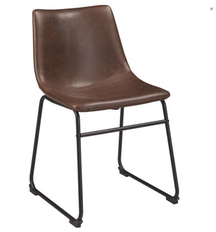 Centiar Counter Height Bar Stool in Brown