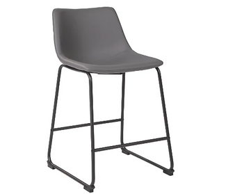 Centiar Counter Height Bar Stool in Grey