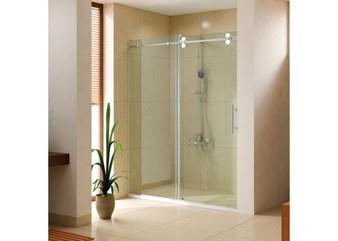 "KQ04 30"" Shower Enclosure in Chrome"