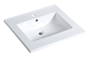 MY13063 Countertop Lavatory Basin in White