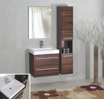 """PA750 30"""" Bathroom Vanity Set in Brown"""