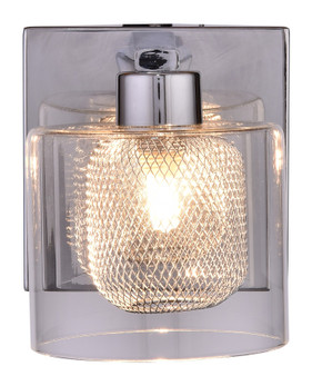 SW8790-1CH Vanity 1-Light Wall Sconce in Chrome