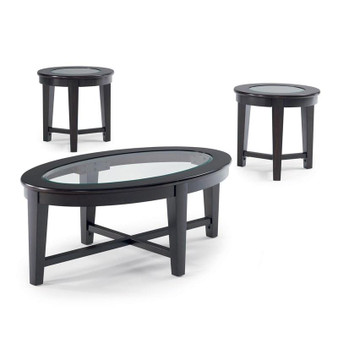 701511 Stansall Table Set in Cappuccino