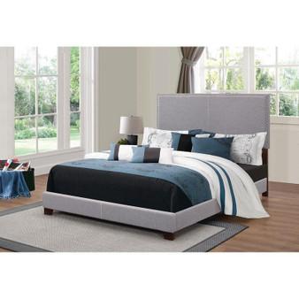 350071 Boyd Queen Bedframe in Grey