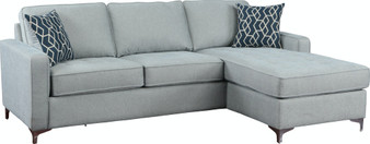 509327 Nashua Sectional in Blue