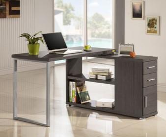 0B027DT L Shaped Desk in Grey