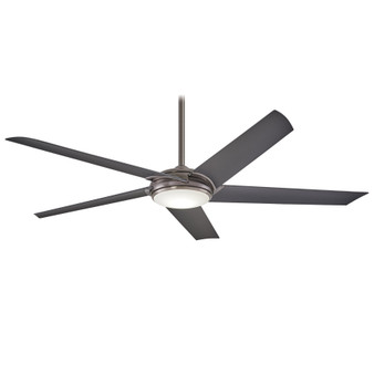 "Raptor 60"" Indoor LED Ceiling Fan in Gunmetal"